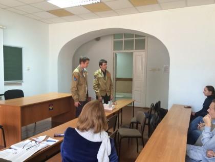 Встреча со студентами филиала МГУ по инновационной деятельности